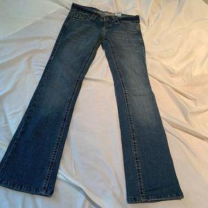 Paris Blues Jeans Bootcut Juniors Size 1 25
